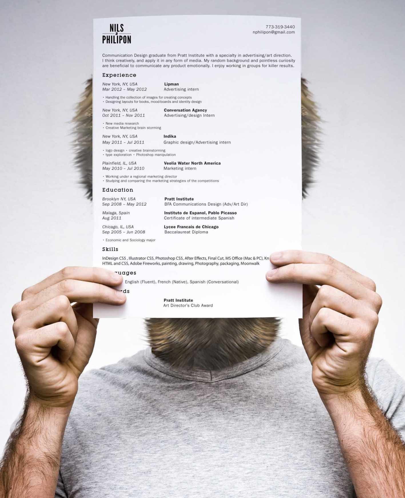 Art Director Resume creative director resume cover