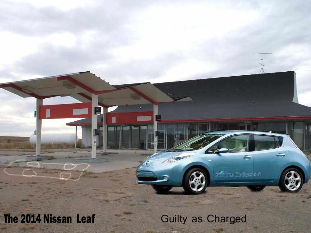 spec Nissan leaf print ad first impressions