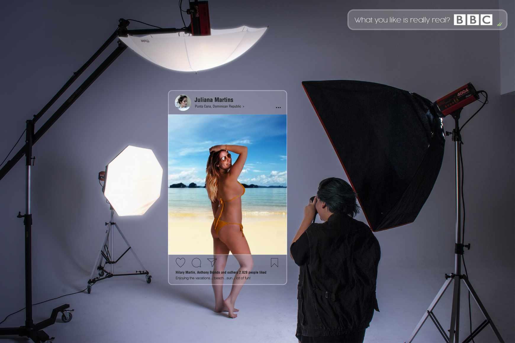 BBC Print Ad - Beach