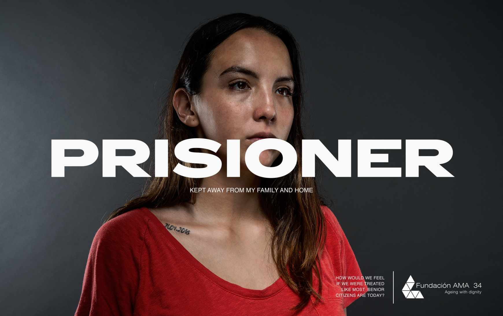 AMA 34 Foundation Print Ad - Prisioner