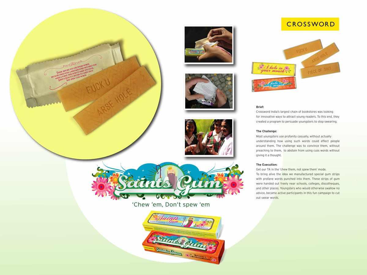 saints gum