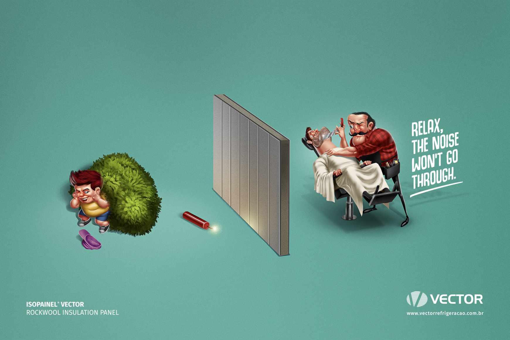 Vector Print Ad - Bomb