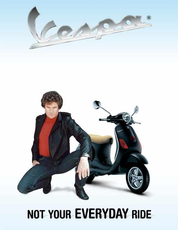 Vespa Scooter Ad Compaign