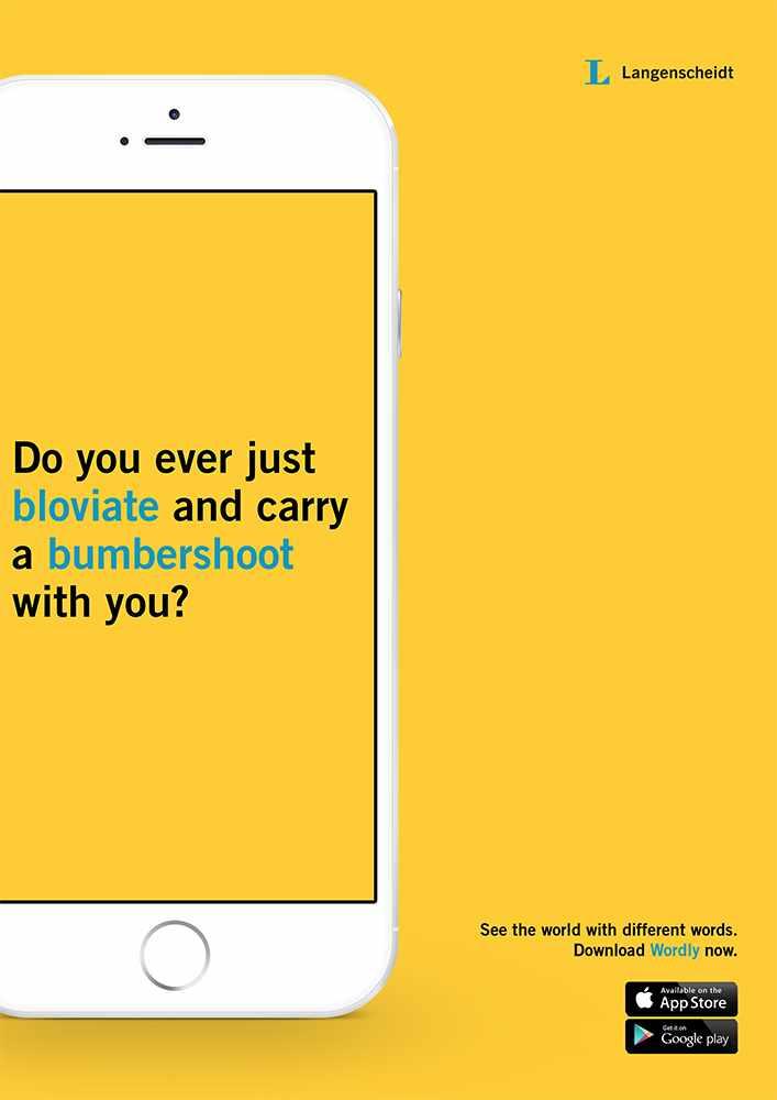 Langenscheidt Print Ad - Wordly, 2