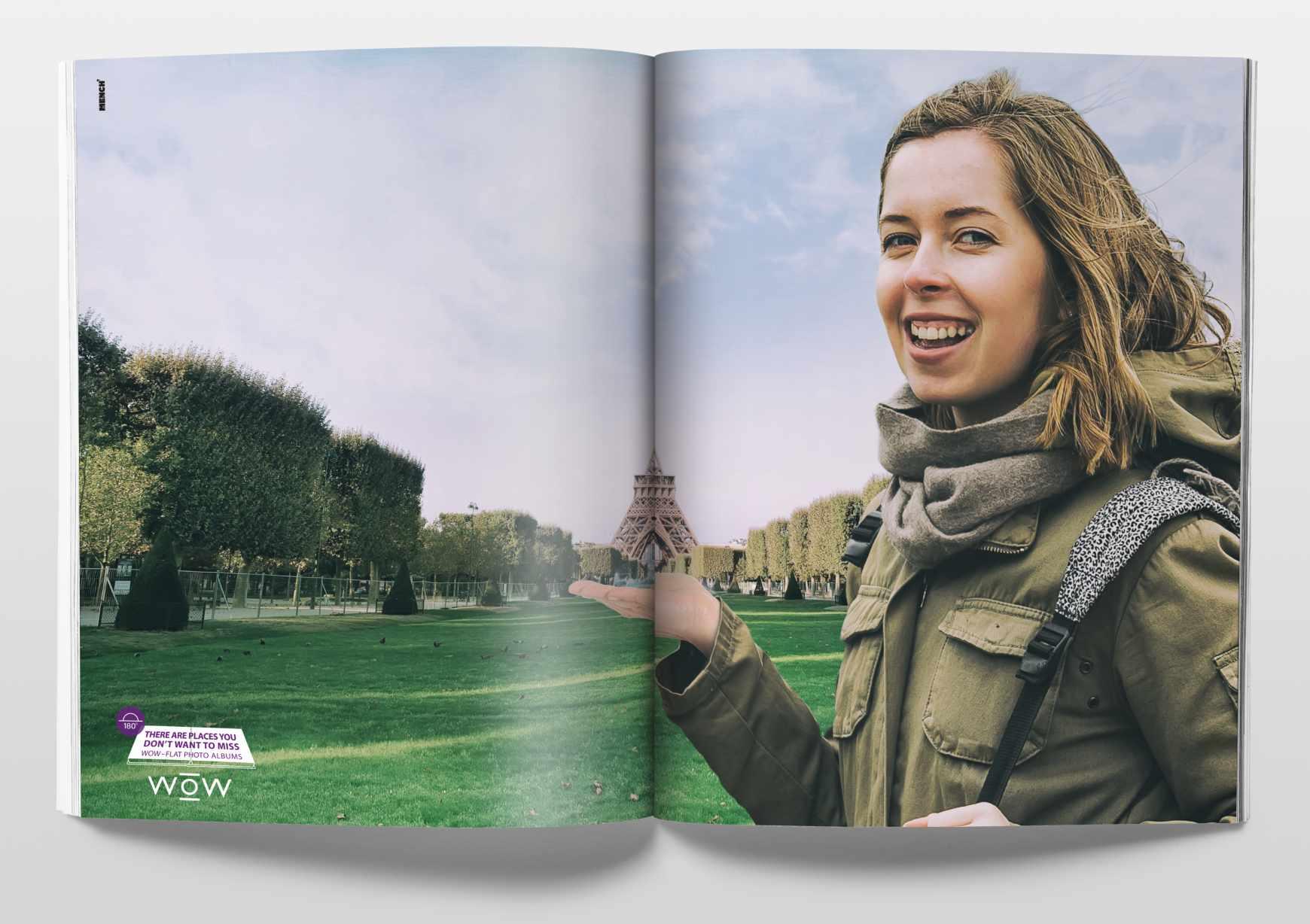 WOW Print Ad - Flat Photo Album