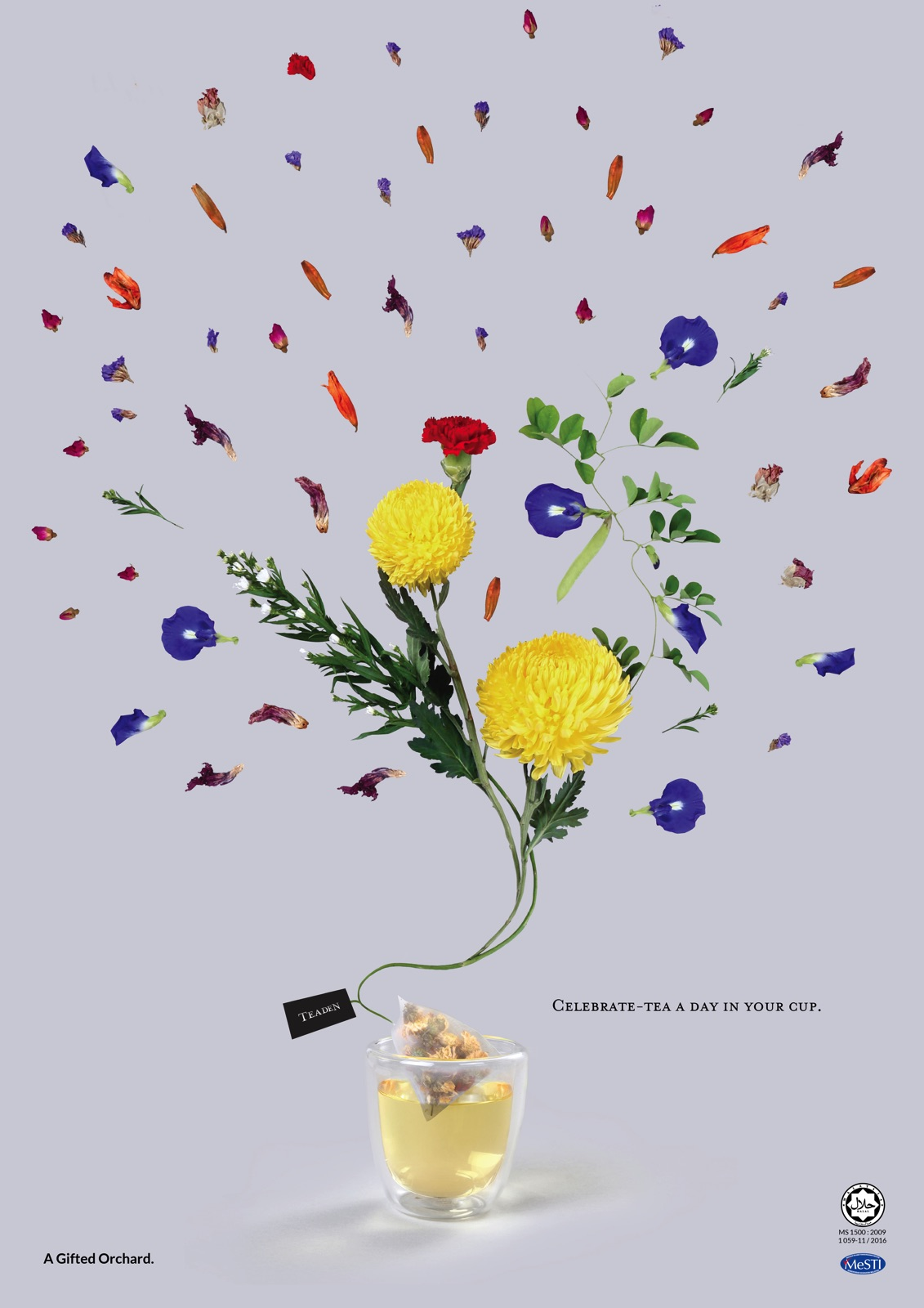 Teaden Print Advert By At Home Creative: Teaden\'s Life Cerebrations ...