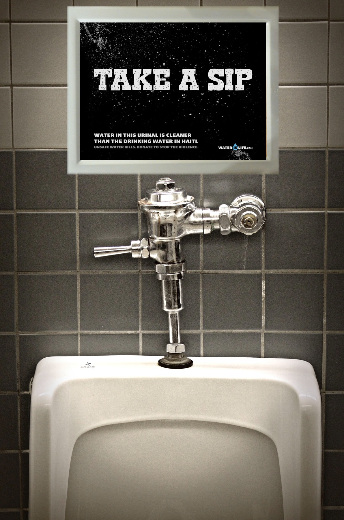 Water Is Life Outdoor Advert By Miami Ad School Take A