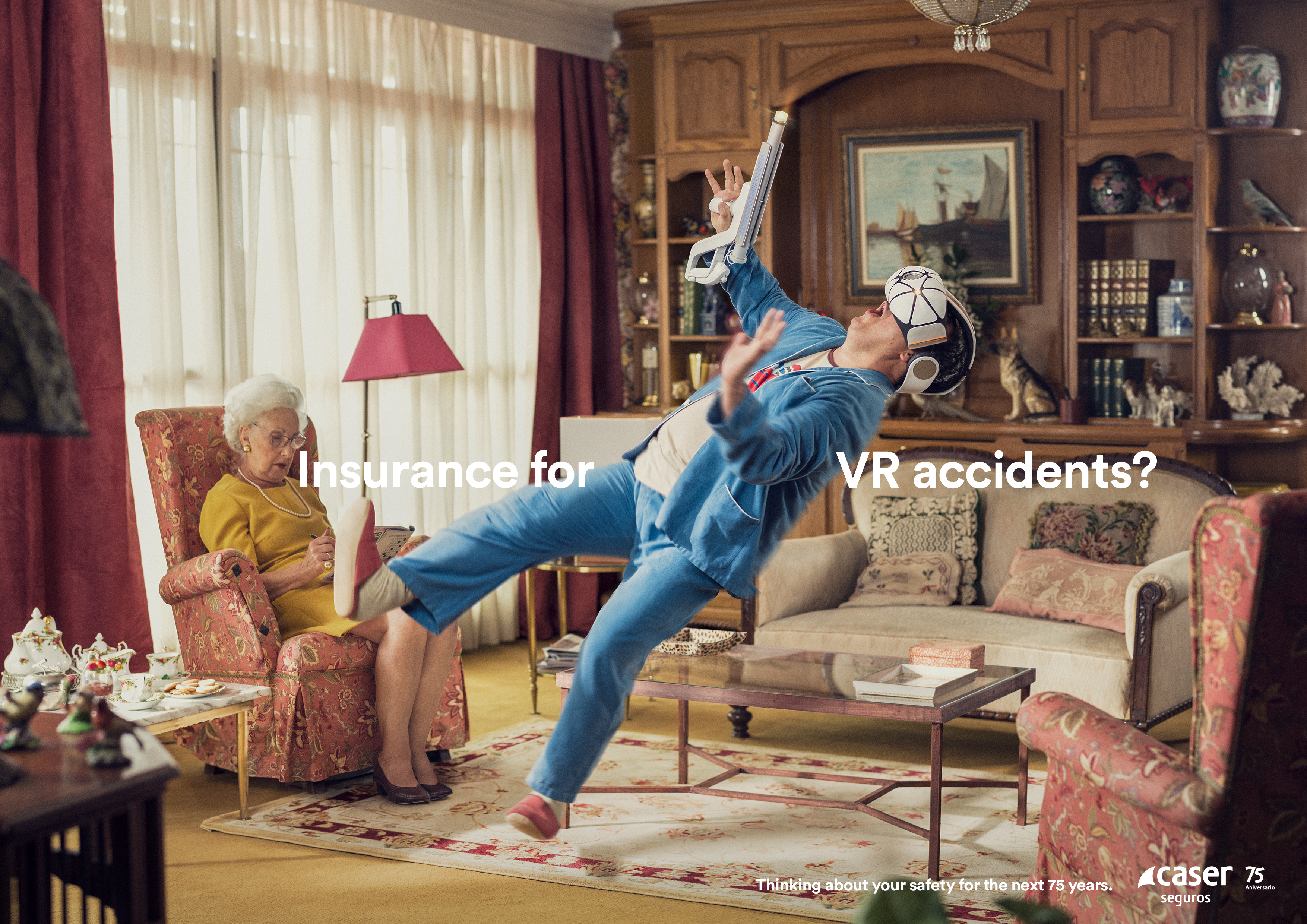 lucas world of furniture. Caser Seguros Print Ad - VR Lucas World Of Furniture A