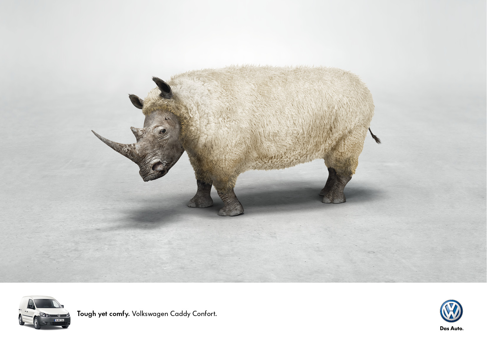 Volkswagen Print Advert By Saatchi Amp Saatchi Fluffy Ads