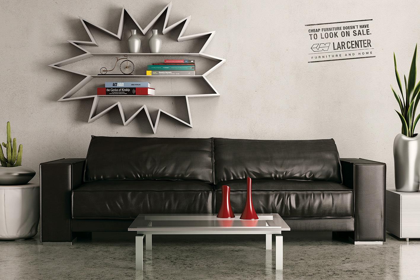 creative images furniture. Lar Center Print Ad - Wall Creative Images Furniture