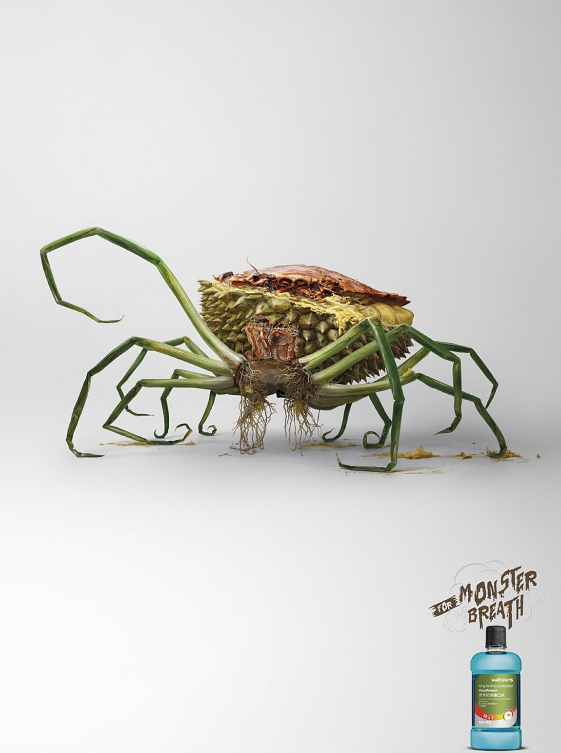 watsons print advert by ddb crab ads of the world