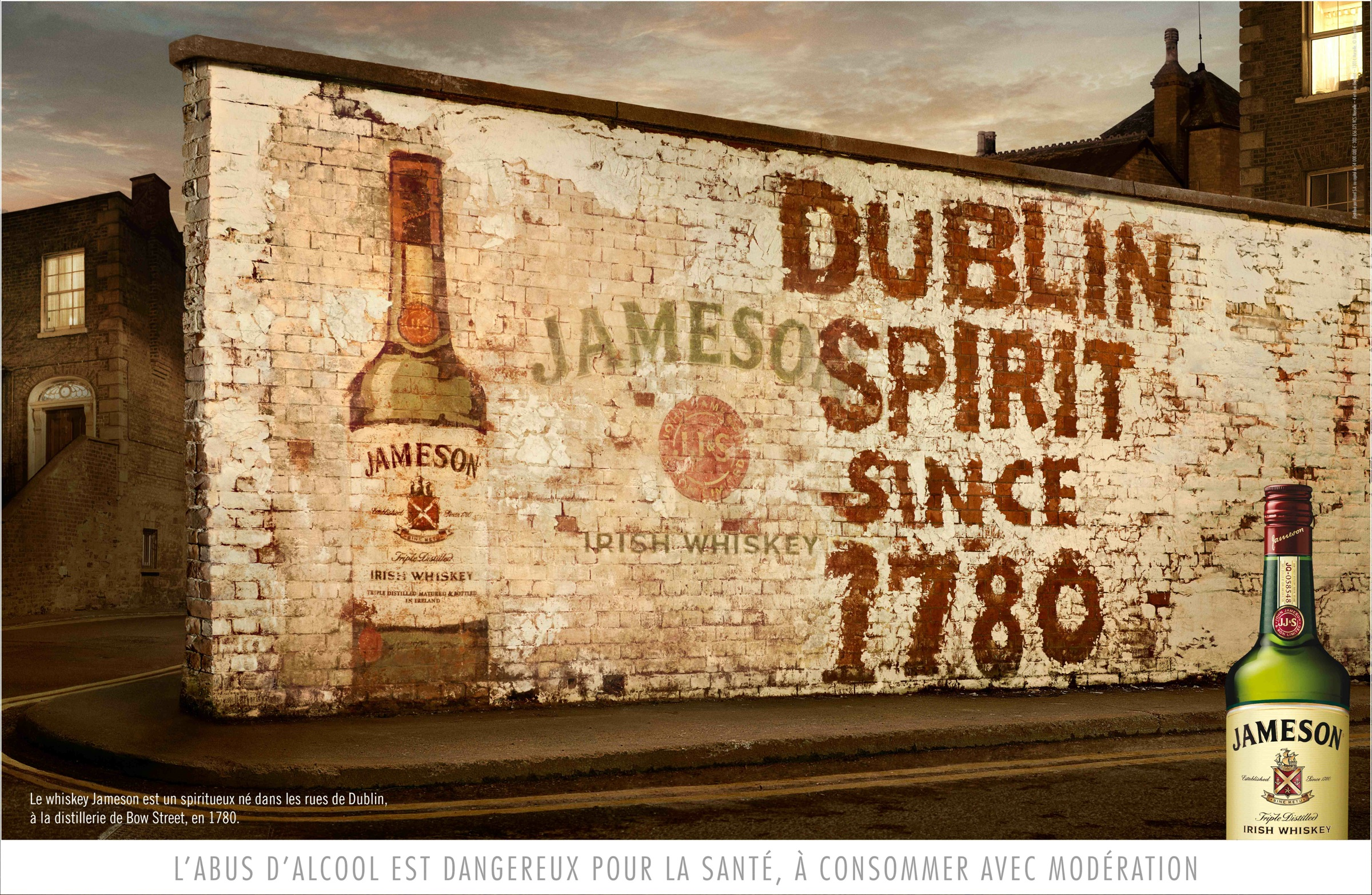 Jameson Outdoor Advert By BEING: White wall | Ads of the World™