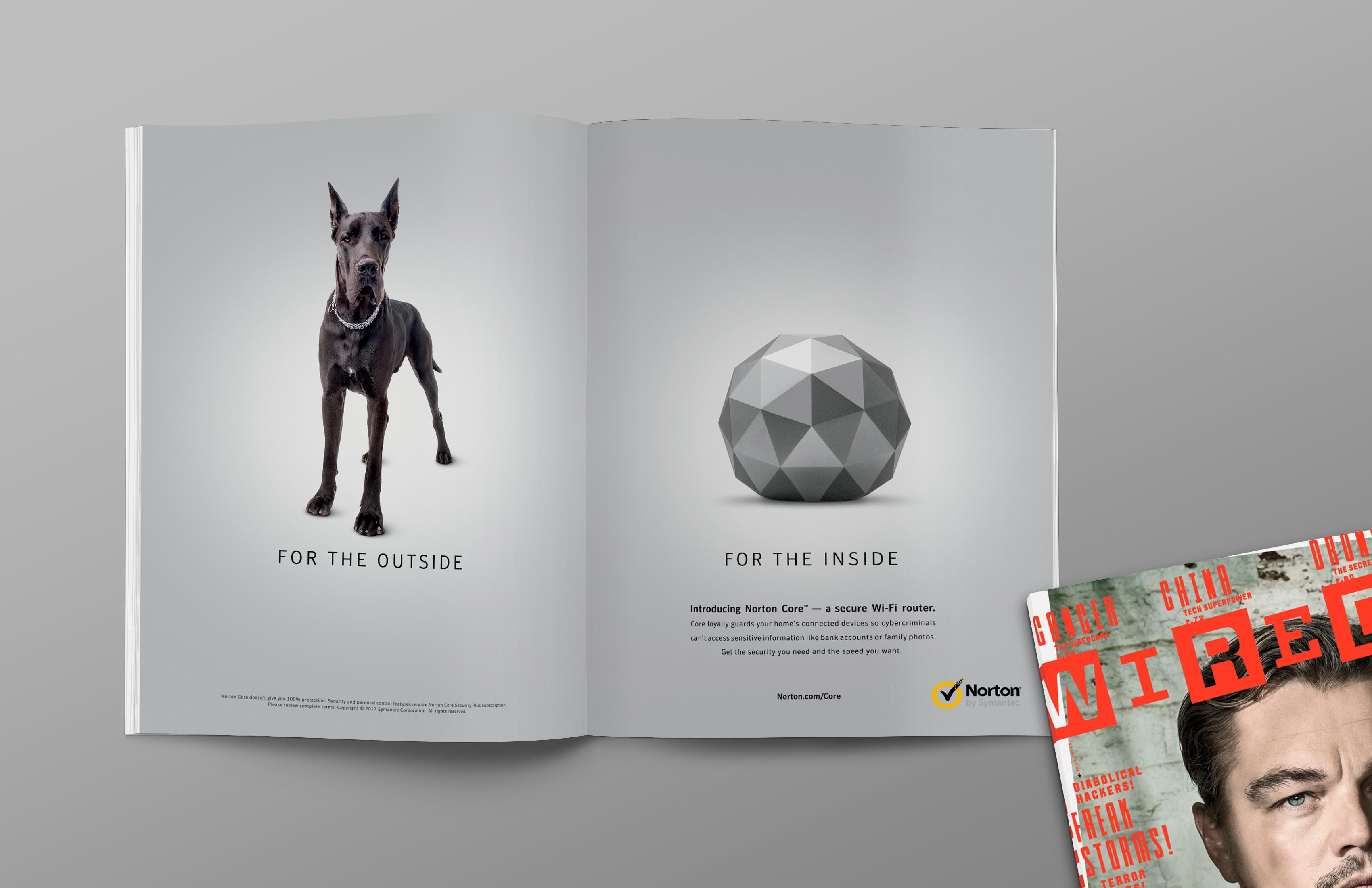 Norton Outdoor Advert By Grey: Wired Magazine | Ads of the World™